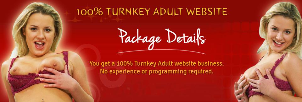Turnkey adult website